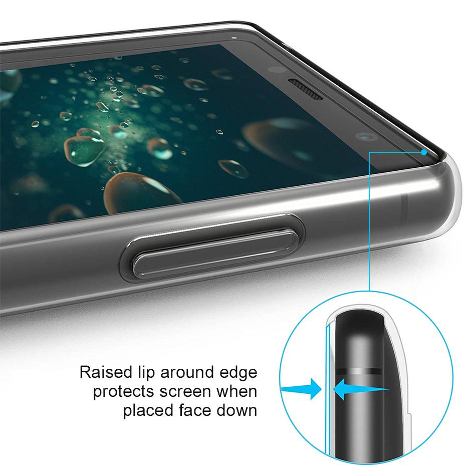 new style b37f9 b908a Flexi Slim Gel Case for Sony Xperia XZ2 Compact (Clear)